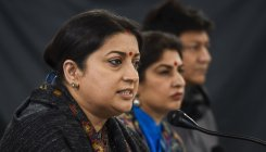 Cong remained oblivious to minorities in Pak: Irani