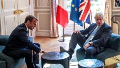 Johnson, Macron reiterate Iran nuclear deal commitment