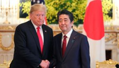 Trump calls for stronger US-Japan alliance
