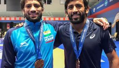 Bajrang, Ravi claim gold medals in Rome Ranking Series