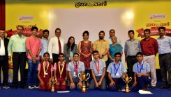 Canara High School wins PV-DH quiz trophy