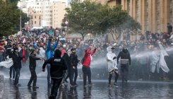 160 wounded as Lebanon protesters clash with police