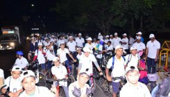 650 cyclists take part in Saksham 2020 cyclothon