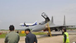 Sukhoi-30 MKI jets inducted in Thanjavur air base