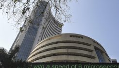 Sensex plunges 416 pts; Kotak Bank tanks 5 pc