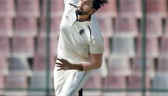 Ishant injures ankle before Test squad announcement