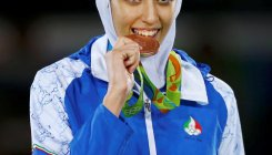 'Iran's only female Olympic medalist moving to Germany'