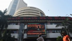 Sensex drops over 200 pts; Nifty tests 12,200