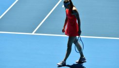 Sharapova's future uncertain after early Melbourne exit