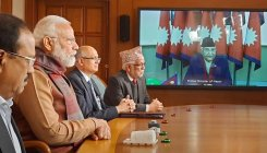 Modi, Oli inaugurate check post via video conferencing