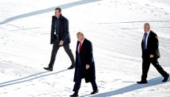 Trump heading to Davos as impeachment trial reconvenes