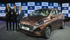 Hyundai launches Aura, prices start at Rs 5.79 lakh