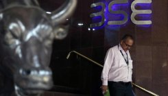Sensex slips to over five-week low