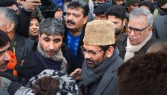 Naqvi interacts with locals at Srinagar's Lal Chowk