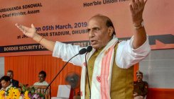 We wouldn't discriminate among religions: Rajnath Singh