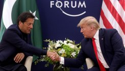 Trump meets Pak PM in Davos, offers to help resolve J&K