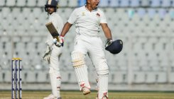Ranji: Sarfaraz's 300 gives Mumbai 1st-innings lead