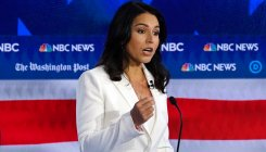 Gabbard sues Clinton over Russia 'favourite' comments