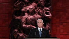 Pence says world must stand strong against Iran
