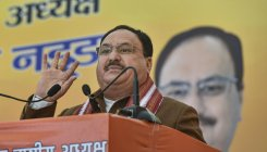 Cong suffering from 'mental bankruptcy', says J P Nadda