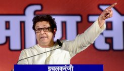Why loudspeakers on mosques, asks Raj Thackeray
