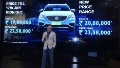 MG Motor launches ZS EV at Rs 19.88 lakh