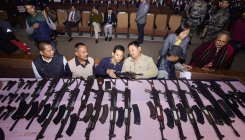 644 Assam militants lay down arms