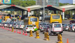 Private bus crushes toll booth staffer to death