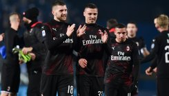 Rebic wins it for Milan after Ibrahimovic misses sitter