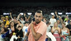 Kyrgios sets up Nadal showdown after five-set thriller