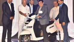 TVS launches iQube Electric scooter at Rs 1.15 lakh