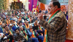 BJP president Nadda meets veteran leaders