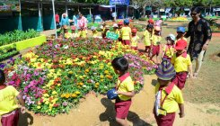 Flower show: Paper tickets at Lalbagh metro station