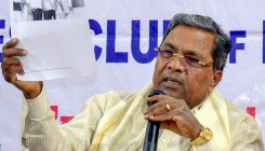 Siddaramaiah demands serious action on threat letter