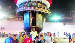 Foreign guests get a glimpse of local culture