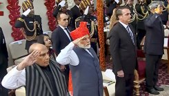 PM Modi, Union ministers greet people on Republic Day