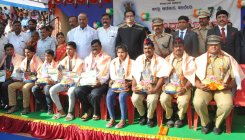 Republic Day celebrated with zeal in Haveri