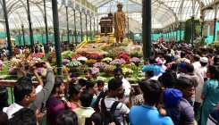 Republic Day flower show footfall dips to 2.3 lakh
