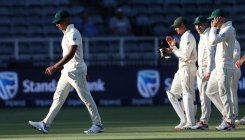 SA 'hold on to positivity' as huge Test defeat looms