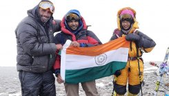 Kaamya, youngest girl in world to summit Mt. Aconcagua