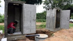 Rs 540 crore worth swachh toilets wiped out in MP