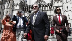 Vijay Mallya arrives for High Court extradition appeal