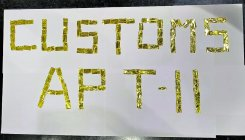 Man held with gold strips at Mangalore airport