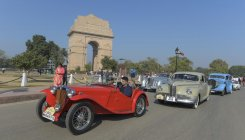 Rare vintage cars from India steal show at car rally