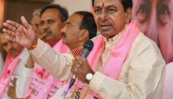 T'gana neta fined for hoarding to wish CM KCR on b'day