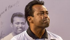 Leander Paes felicitated on last day of Bengaluru Open