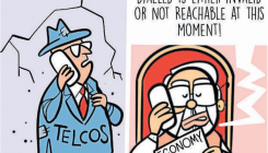 Cartoon: Vast powers with govt to address telcos issues