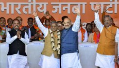 Babulal Marandi's JVM(P) merges with BJP