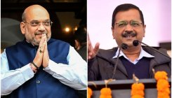 Kejriwal meets Shah, says will work together for Delhi