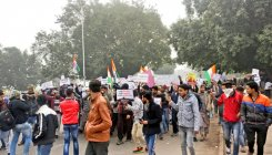 CAA: Hundreds gather at Red Fort to protest amid orders